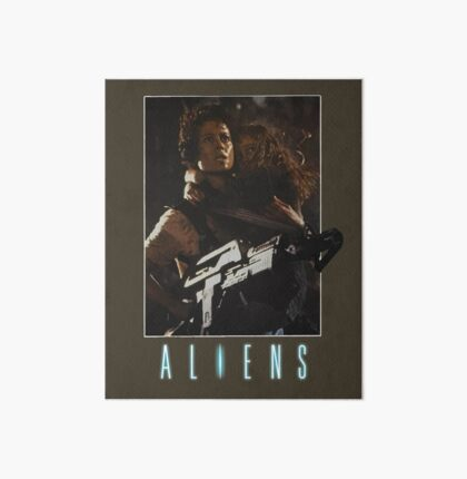 Aliens - Ripley & Newt Art Board