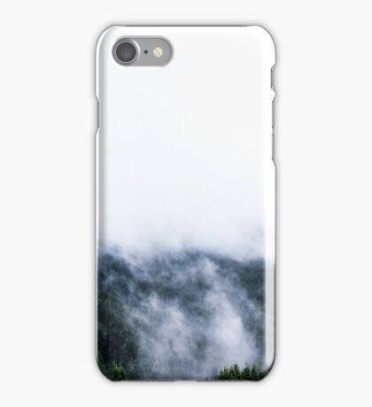Austria - Feldkirch - fog in the spurce woods iPhone Case/Skin