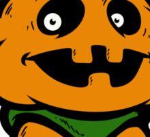 Pumpkin Iron Sticker