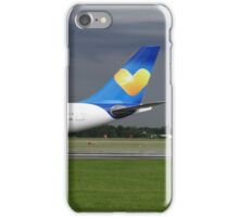 Thomas Cook A330 at Manchester Airport iPhone Case/Skin