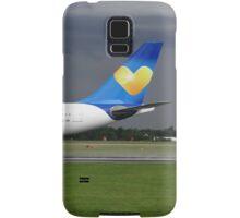 Thomas Cook A330 at Manchester Airport Samsung Galaxy Case/Skin