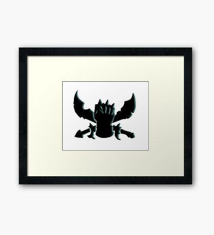 Fighter League of Legends Framed Print