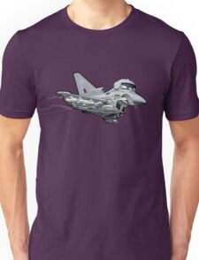 Cartoon Fighter Plane Unisex T-Shirt