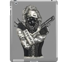Marilyn Monroe 'Gangstified' iPad Case/Skin