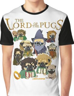 THE LORD OF THE PUGS Graphic T-Shirt