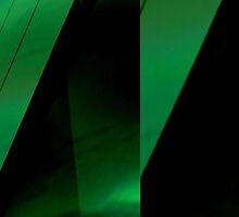 green leaf folds by noirAB