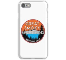GREAT SMOKY MOUNTAINS NATIONAL PARK TENNESSEE NORTH CAROLINA GATLINBURG 5 iPhone Case/Skin