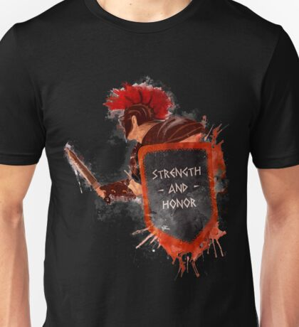 Gladiator, strength & honor Unisex T-Shirt
