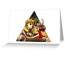 Courage Wind Waker Link Greeting Card