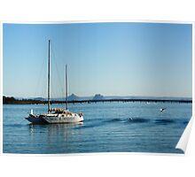 Bribie Island Qld Australia Poster