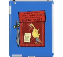Pirate invasion kit iPad Case/Skin