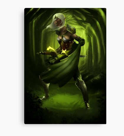 Elf Forest Canvas Print