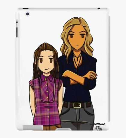 Sunday's Best - Tris and Anya iPad Case/Skin
