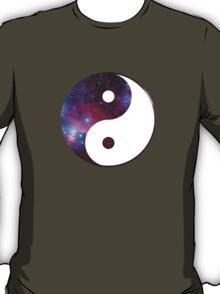 Ying and yang galaxy T-Shirt