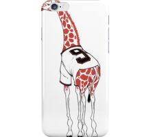 Belt Giraffe (Textless) iPhone Case/Skin