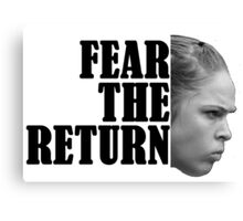 FEAR HER Canvas Print
