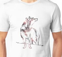 Funky Wolf Unisex T-Shirt