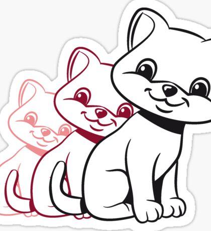 Katze baby süss design  Sticker