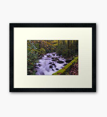 Roaring Fork Crossing Framed Print
