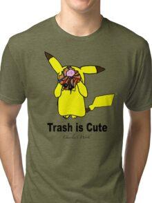 Trash is cute Tri-blend T-Shirt