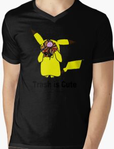 Trash is cute Mens V-Neck T-Shirt
