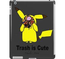 Trash is cute iPad Case/Skin