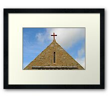 Church Top Framed Print