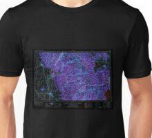 USGS TOPO Map California CA Chico 299748 1958 250000 geo Inverted Unisex T-Shirt
