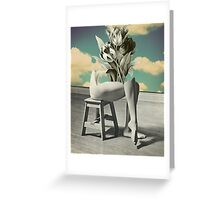 She's Gone Greeting Card