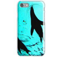 Patagonian Sea Lion from Below iPhone Case/Skin