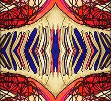 "Colored Scribbles - ""Wavelengths"" by MidniteBlue2565"