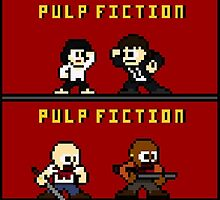 Mega Pulp Fiction by FreakaJebus