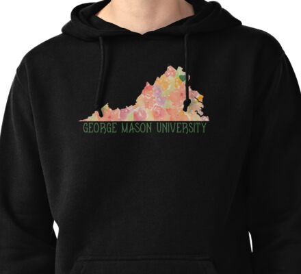 Style 1 - George Mason Pullover Hoodie