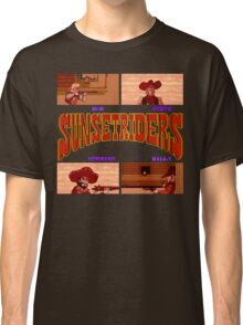 Sunset Riders (SNES) Classic T-Shirt