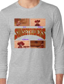Sunset Riders (SNES) Long Sleeve T-Shirt
