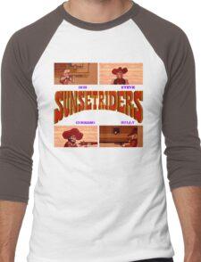 Sunset Riders (SNES) Men's Baseball ¾ T-Shirt