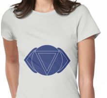 Ajna - The Third Eye Chakra Womens Fitted T-Shirt