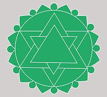 Anahata - The Heart Chakra by annekulinski