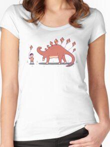 Stego-Soar Women's Fitted Scoop T-Shirt