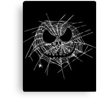 Scary Web Canvas Print