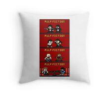 Mega Pulp Fiction Throw Pillow