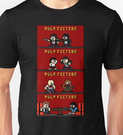 Mega Pulp Fiction Unisex T-Shirt