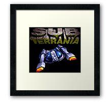 Sub-Terrania (Genesis Title Screen) Framed Print