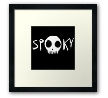 Spooky Scary Framed Print