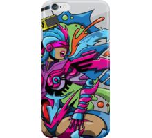 Lady Wild Style iPhone Case/Skin