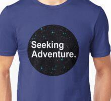 Seeking Adventure. Unisex T-Shirt