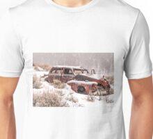 Auto in Snowstorm Unisex T-Shirt