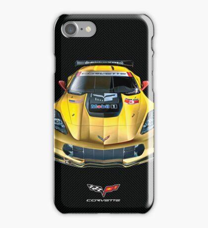 Chevrolet Corvette C7 .R carbon fiber edition iPhone Case/Skin
