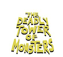 The Deadly Tower of Monsters Photographic Print
