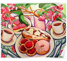 Afternoon Tea Poster